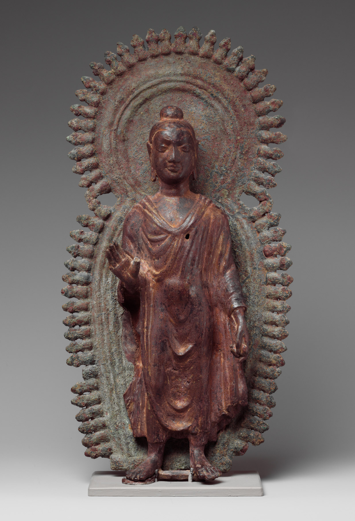 Buddha with halo