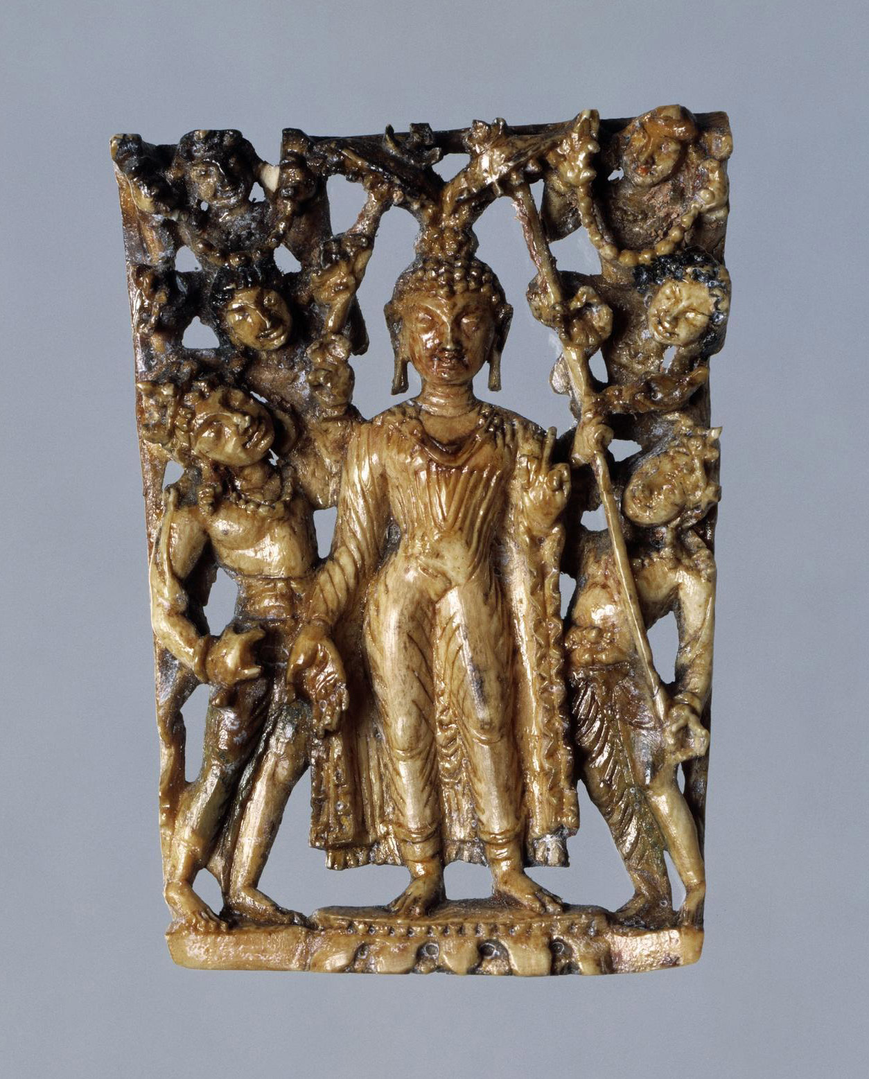 Descent of the Buddha from Tusita Heaven